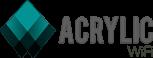Acrylic WiFi Logo